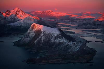 Norway Wall Art - Photograph - Here Live Dragons... by Siarhei Mikhaliuk *