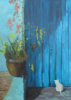Susan Richardson Painting - Here Mouse by Susan Richardson