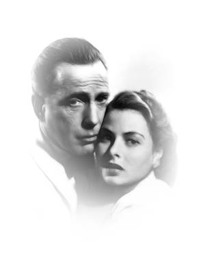 Casablanca Painting - Here S Looking At You Kid by Steve K