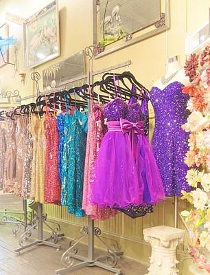 Dresses Art Print by Jamie Johnson