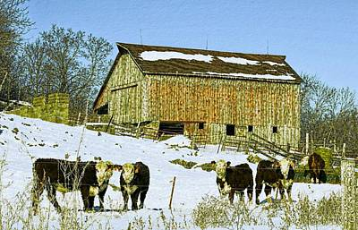 Photograph - Hereford Barn Painting by Bonfire Photography