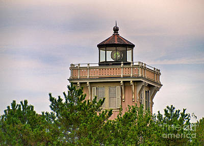 Lighthouse Photograph - Hereford Inlet Light by Mark Miller