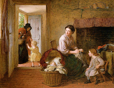 Dickens Painting - Heres Granny by George Smith