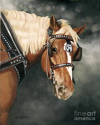 Barton Painting - Here's Lookin' At You Kid by Artist Karen Barton