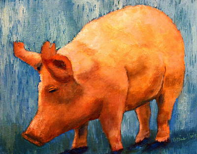 Painting - Heres The Bacon by Marie Hamby