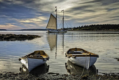 Photograph - Heritage Boats by Fred LeBlanc