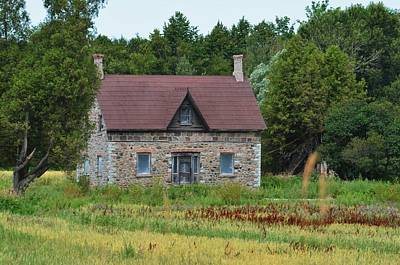 Photograph - Heritage Home by Brenda Stone