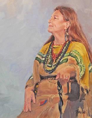 Painting - Heritage by Karen Ilari