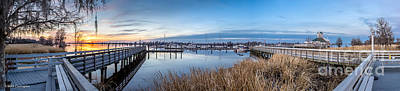 Photograph -  Pawleys Island Boardwalk by Mike Covington