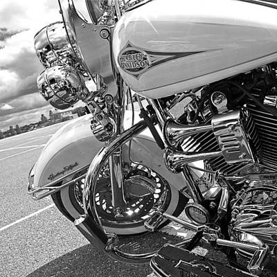 Photograph - Heritage Softail Harley by Gill Billington