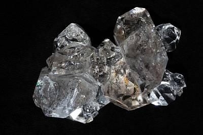 Terminate Photograph - Herkimer Diamonds by Dirk Wiersma