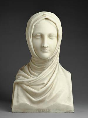 Herm Of A Vestal Virgin Antonio Canova, Italian Art Print by Litz Collection