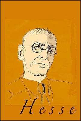 Herman Hesse Art Print