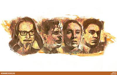 Editoria Digital Art - Hermanos Revueltas by Lucirgo Ergo