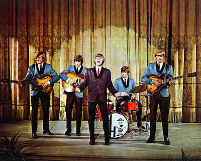 Herman Photograph - Herman's Hermits by Silver Screen