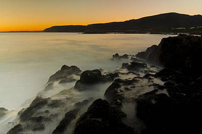 Hermanus Sunset Art Print by Aaron Bedell