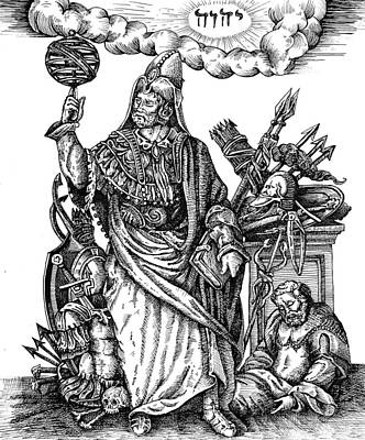 Drawing - Hermes Trismegistus by Gregory Stewart