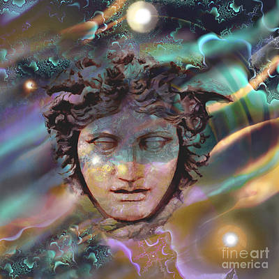 Digital Art - Hermes by Ursula Freer
