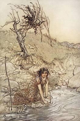 Hermia, Illustration From Midsummer Art Print