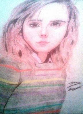 Hermione Granger Art Print by Corey Hopper