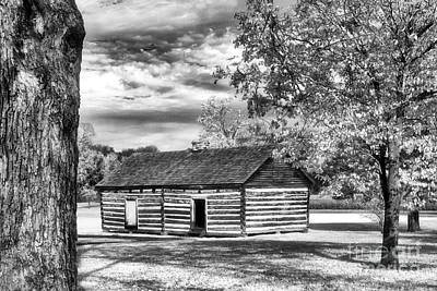 Hermitage Cabin Art Print by Jeff Holbrook