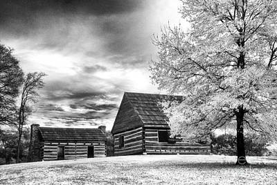 Hermitage Cabins Art Print by Jeff Holbrook