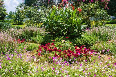 Photograph - Hermitage Gardens by Robert Hebert