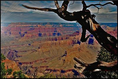 Photograph - Hermits Rest Grand Canyon by Matthew Heller