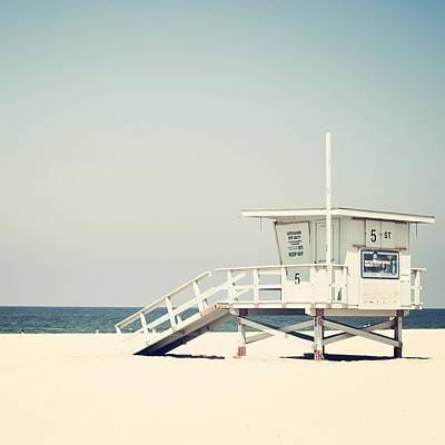 California Seascape Photograph - Hermosa Beach  by Bree Madden