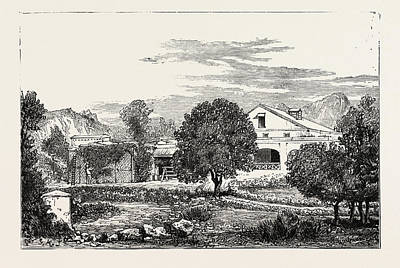 Vale Drawing - Herne Dale Happy Valley  Mussoorie The Residence by English School