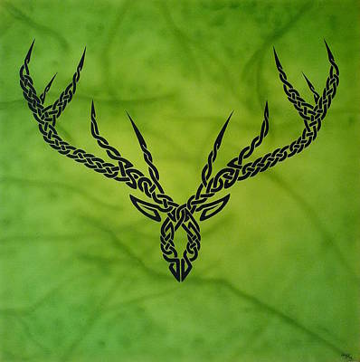 Painting - Herne by Guy Pettingell