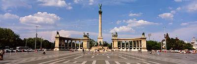 Hungary Travel Photograph - Hero Square, Budapest, Hungary by Panoramic Images