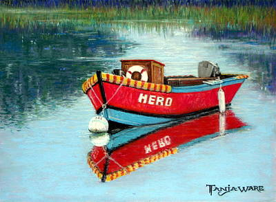 Realistic Pastel Painting - Hero by Tanja Ware