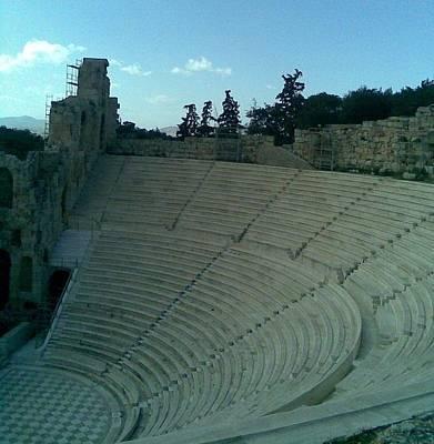 Photograph - Herodion Theater by Katerina Kostaki