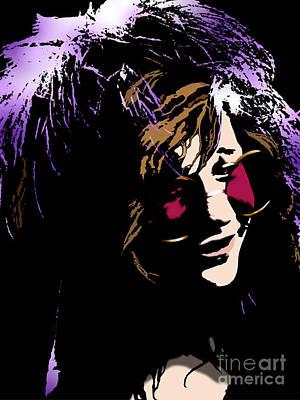 Overdose Digital Art - Heroine Of Chelsea / Janis by David Krajecki