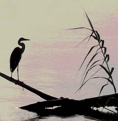 Travel - Heron Morning by Kent Dunning