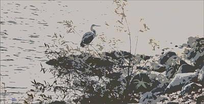 Painting - Silent Lake by Douglas MooreZart