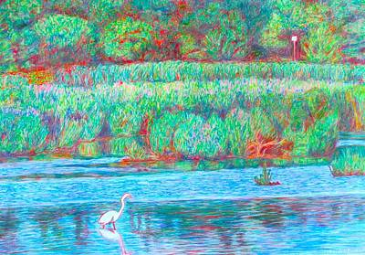 Painting - Heron's Cove by Kendall Kessler