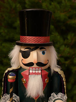Photograph - Herr Drosselmeyer Nutcracker by Richard Reeve