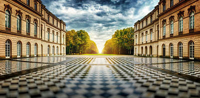 Palace Photograph - Herrenchiemsee Palace. by Juan Pablo De