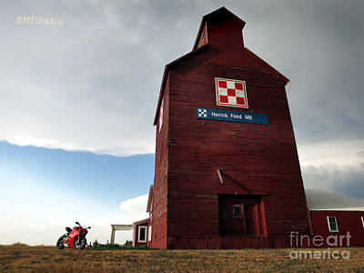 Herrick Mill Sd Art Print by AntiHero Panigale