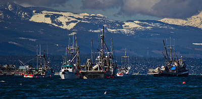 Photograph - Herring Fishery by Randy Hall
