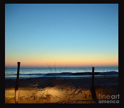Herring Pt At Sunrise Art Print