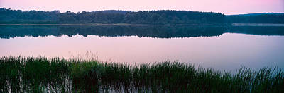 Maryland Photograph - Herrington Manor Lake, Garrett County by Panoramic Images