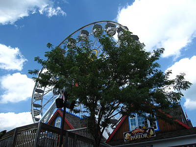Hershey Park - 121242 Art Print by DC Photographer