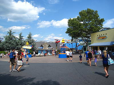 Hershey Park - 121245 Art Print by DC Photographer