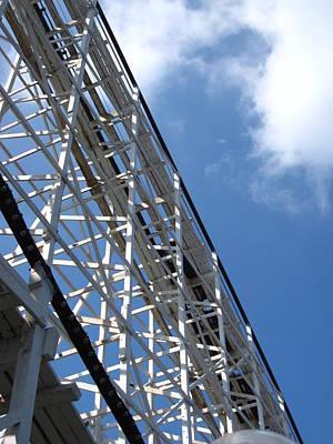 Hershey Park - Comet Roller Coaster - 12122 Art Print
