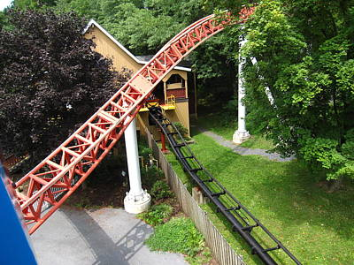 Storm Photograph - Hershey Park - Storm Runner Roller Coaster - 12121 by DC Photographer