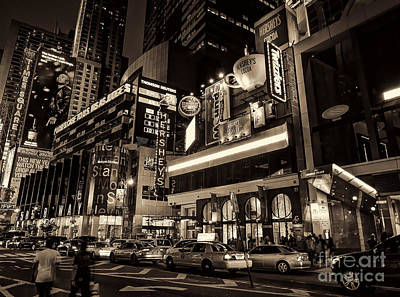 Photograph - Hershey's Times Square by Jeff Breiman