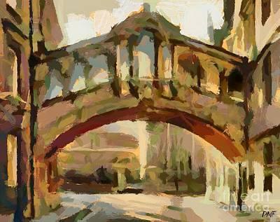 Hertford College Bridge Art Print by Dragica  Micki Fortuna